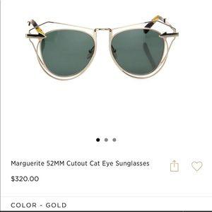 6bf233ca509 Karen Walker Accessories - Karen Walker Marguerite Cutout Cat Eye Sunglasses